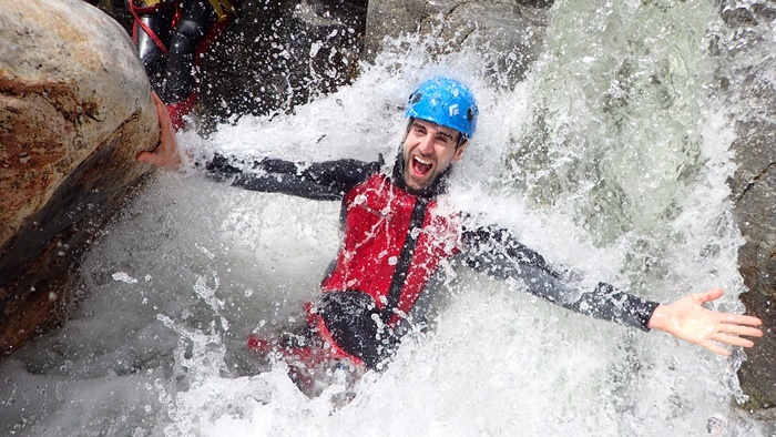 STAG party canyoning offers