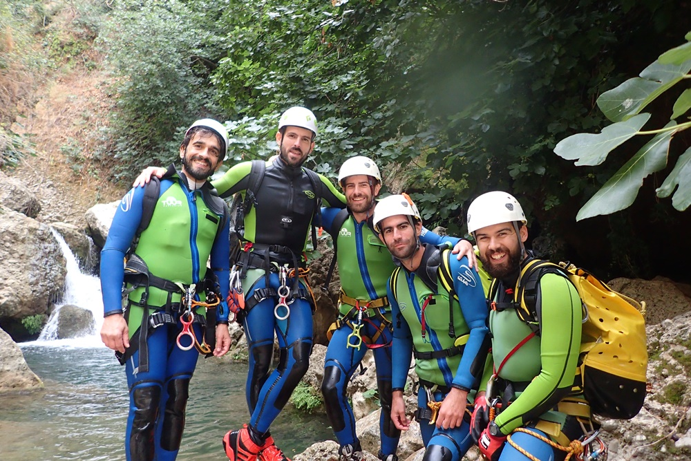tuur canyoning team