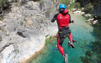 The 4 best canyoning trips on the Costa del Sol
