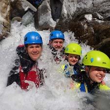 family canyoning malaga